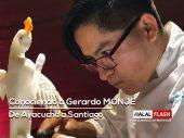 Conociendo a Gerardo MONJE, de Ayacucho a Santiago de Chile, Chef Garnish