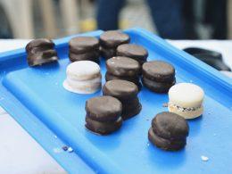 Alfajores Chocolatosos de Maicena