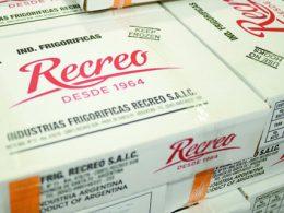 Frigorífico Recreo Argentino, inicia sus ventas en China