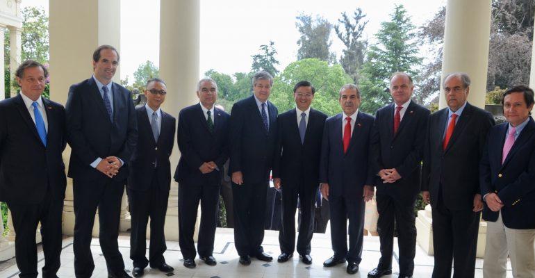 VISITA DE MINISTRO DE ADUANAS DE CHINA PLANTEA AVANCES EN LAS EXPORTACIONES DE CARNE CHILENA BOVINA Y OVINA.