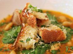 Sopa de Azafrán y Pimientos