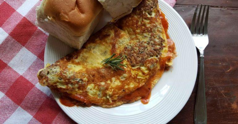 Tortilla de Albóndiga Marinara
