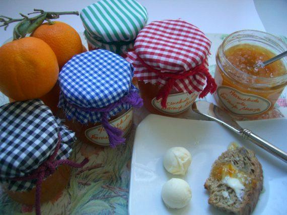 Mermelada de naranja y miel