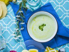 Sopa de Brocoli y Queso