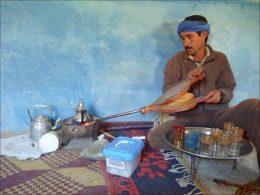 Té con menta Marroquí
