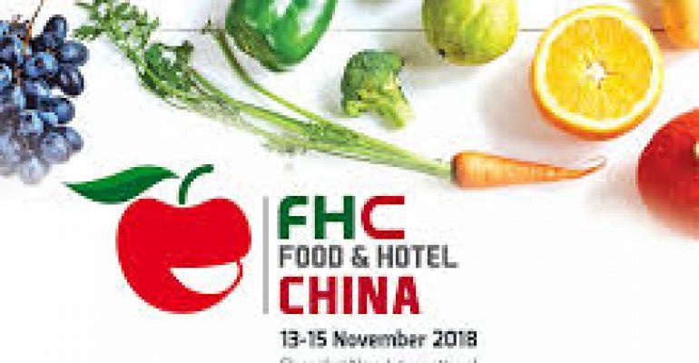 EN NOVIEMBRE SE REALIZARÁ LA FERIA FHC FOOD & HOTEL CHINA 2019