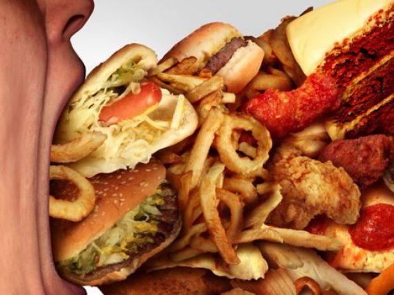 La comida basura es la culpable del sobrepeso