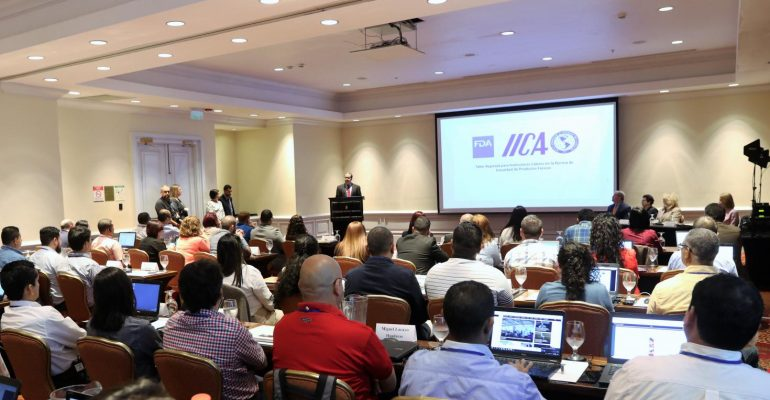 Representante de Chilehalal invitado  a una capacitación de FDA y el IICA para instructores agrícolas sobre requisitos para exportar productos frescos a Estados Unidos