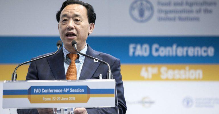 La FAO nombra a los primeros chinos como Director General