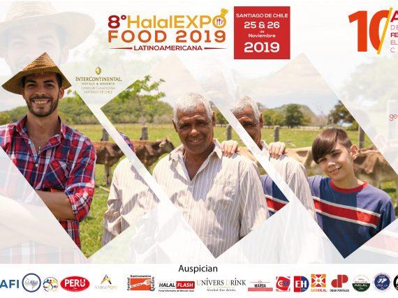 Conviértase en patrocinador de la 8 ° Halal Expo Food en Chile