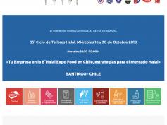 33° Ciclo de Talleres Halal en Santiago de Chile