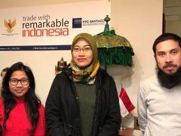 Reunión de Chilehalal con ITPC Santiago y representante de la Embajada de Indonesia