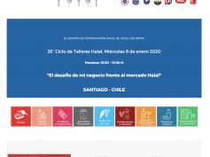 TALLER HALAL N°36 ENERO 2020 en Santiago de Chile