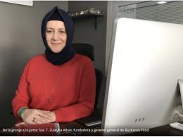 De la granja a la junta: Sra. T. Zuleyha Albas, fundadora y gerente general de Buckaroo Food