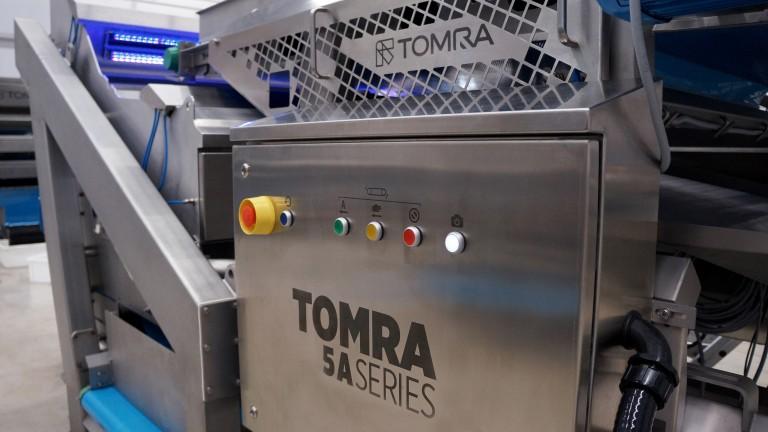 Alta precisión para los procesadores de frutilla en Chile con la TOMRA 5A
